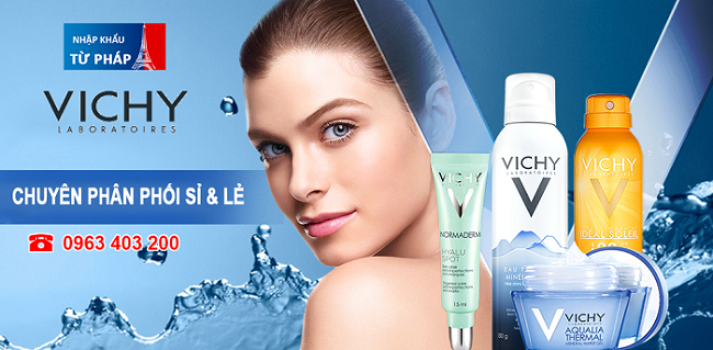 Vichy Normaderm – Mỹ phẩm chăm sóc da dầu và mụn hiệu quả