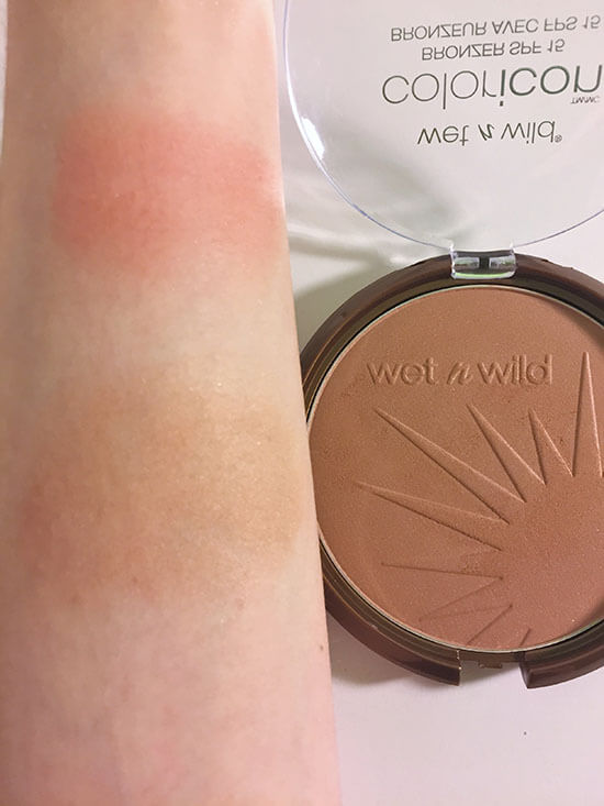wet n wild coloricon Bronzer Bikini Contest swatch