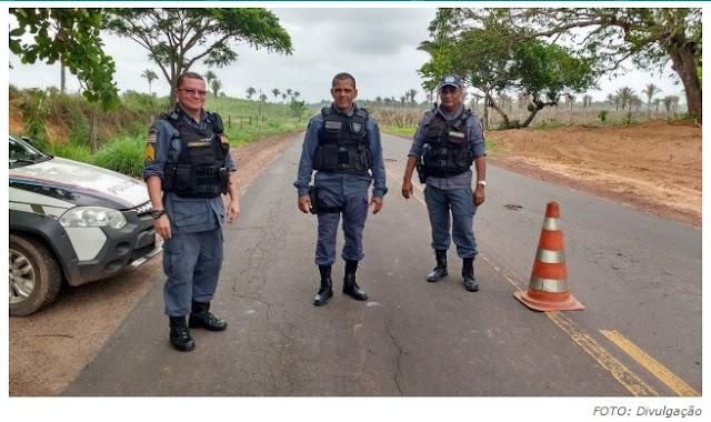 Polícia Militar instala barreira 24 horas no posto da Estiva nesta sexta (29)