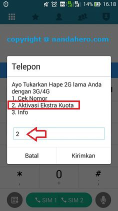 kuota gratis telkomsel simpati as loop