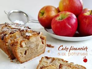 Cake pomme cannelle façon financier