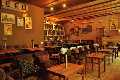 Nhà hàng cafe thiết kế cao cấp