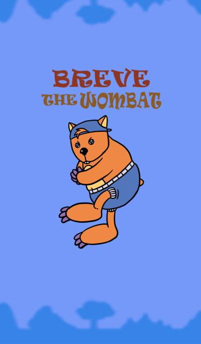 Breve the Wombat