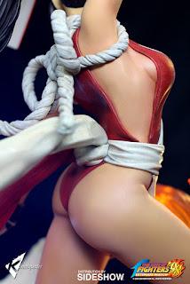 Mai Shiranui 1/4 de King of Fighters - Kinetiquettes