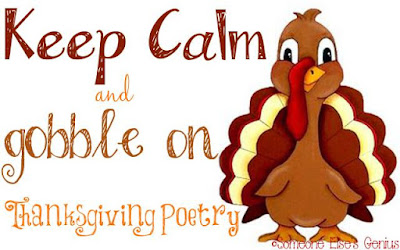 Haiku or Hai-can't: A Collection of Thanksgiving Poetry | www.BakingInATornado.com | Graphic by Robin of Someone Else's Genius blog