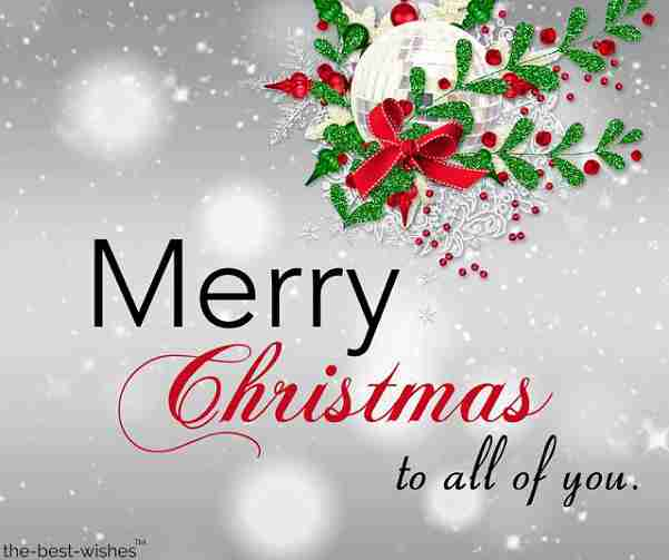merry christmas to all of you picture