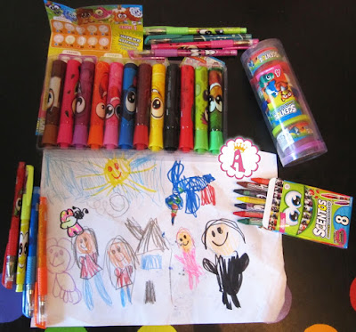 Канцелярские товары Scentos: маркеры, карандаши, ручки, пластилин