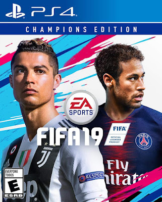 Fifa 19 Game Cover Ps4 Champions Edition