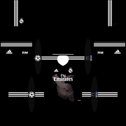 huge discount 434ec 982d3 Baju Real Madrid Dream League Soccer - Model Baju Terbaru 2019