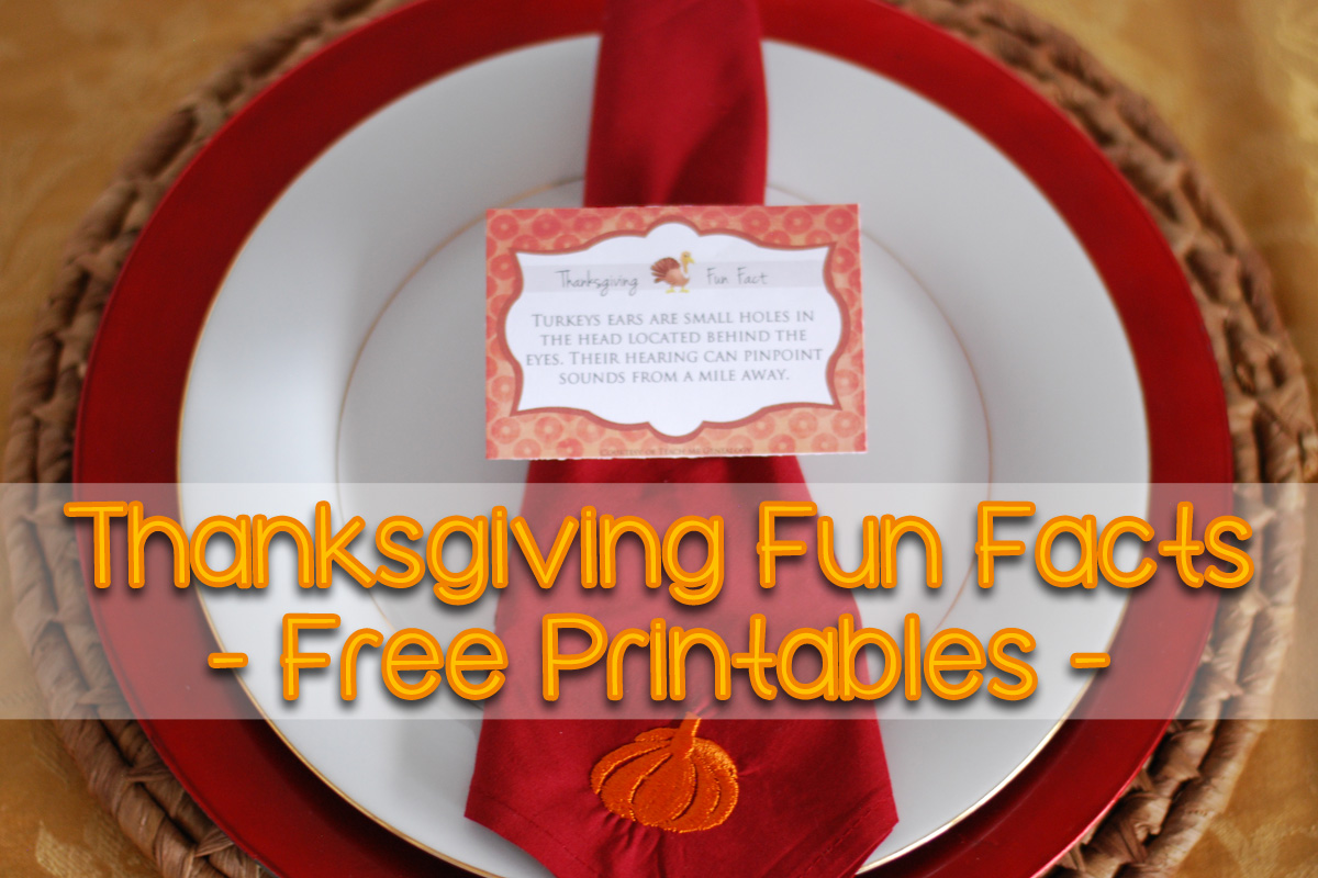 30 Thanksgiving Fun Facts