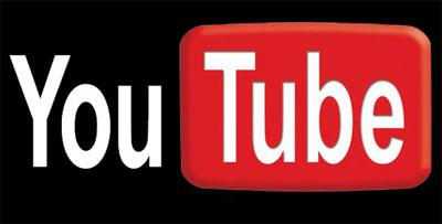 Black YouTube Logo   e Logos