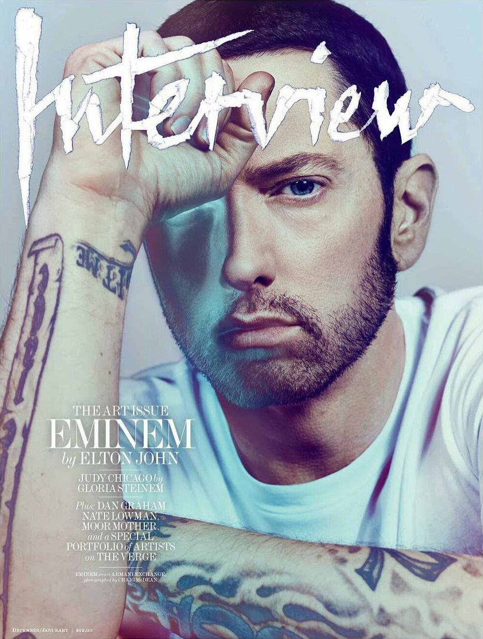 Eminem на обложке журнала