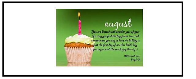 Happy New Month August  Wishes - New Month Quotes