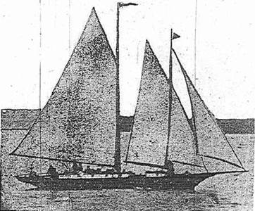 The Gauntlet, Captain A.E. Dingle's yacht