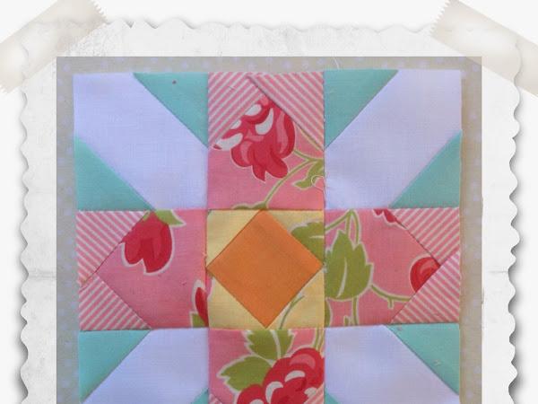 Chatelaine- Free BOW Sampler Quilt Block 82