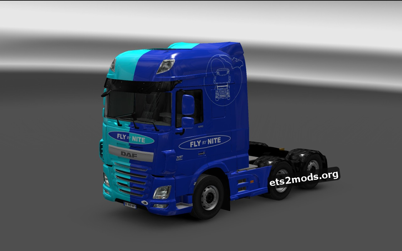 DAF Euro 6 Fly By Nite Transport Skin