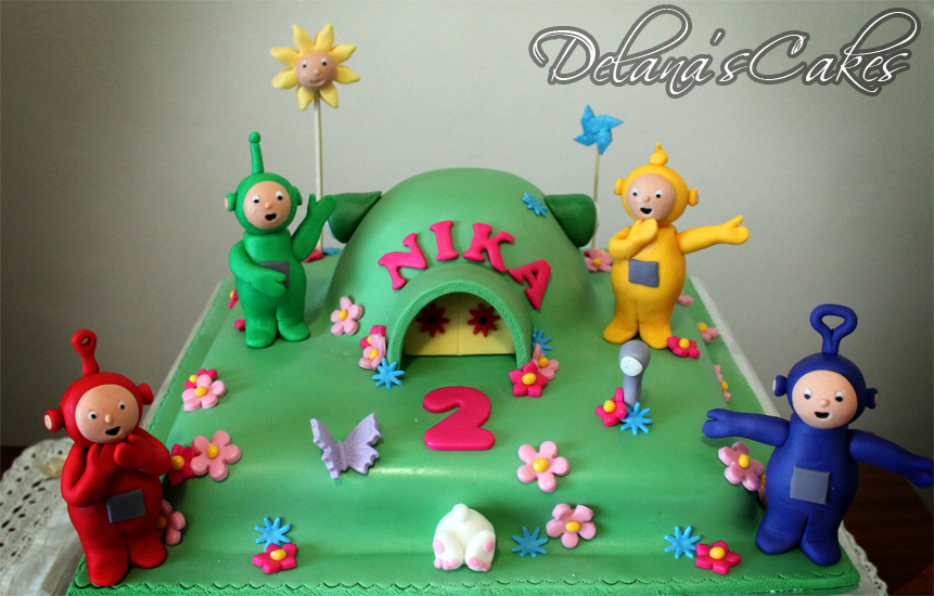 Delana S Cakes Teletubbies Cake