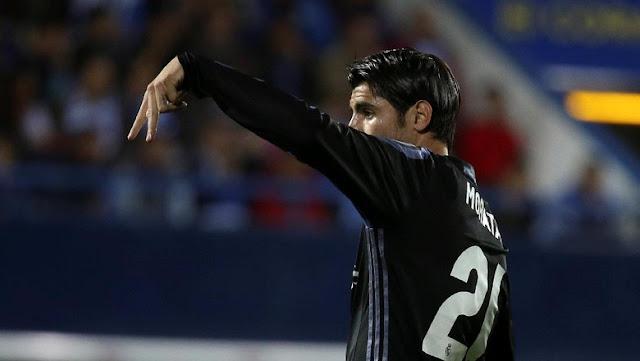 Trigol Morata Akhiri Catatan Buruk Pemain Spanyol di Madrid