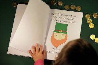 Leprechaun's gold St Patrick's Day: Story for kids free printable for ESL classroom English for kids