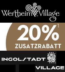 20 Zusatzrabatt Im Ingolstadt Village Bei München Und