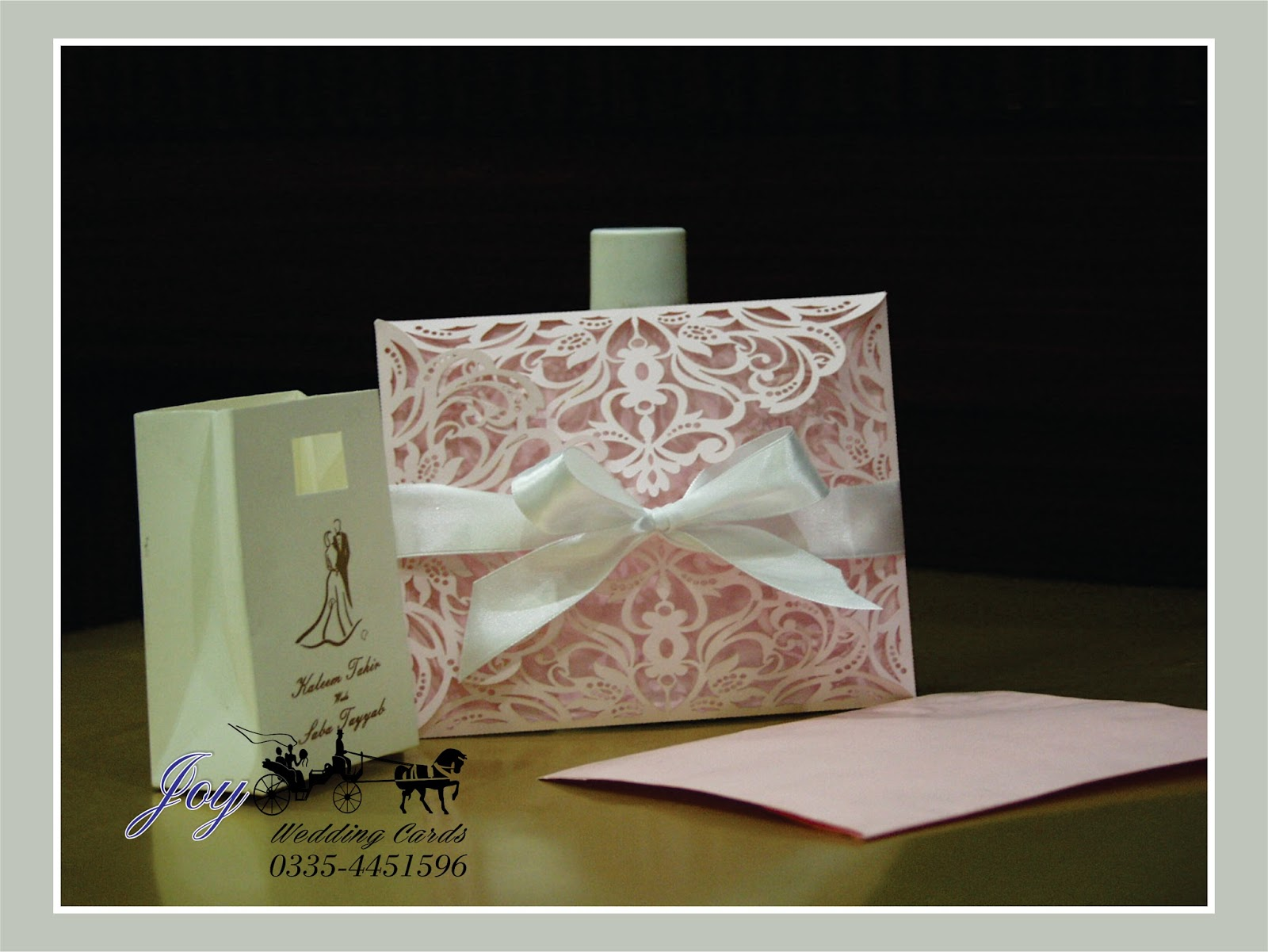 new laser cut wedding invitations township printers - Pakistani Wedding Invitations