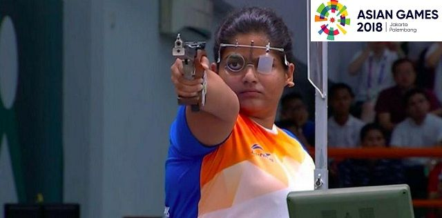 Shooter Rahi Sarnobat clinches 4th gold