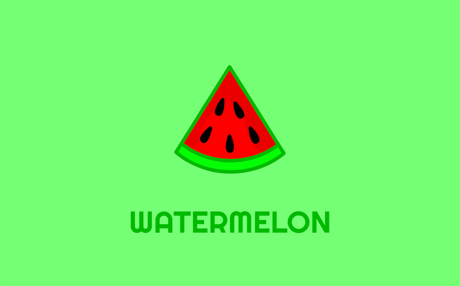 Watermelon Logo Idea