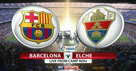 barcelona vs elche - photo #46