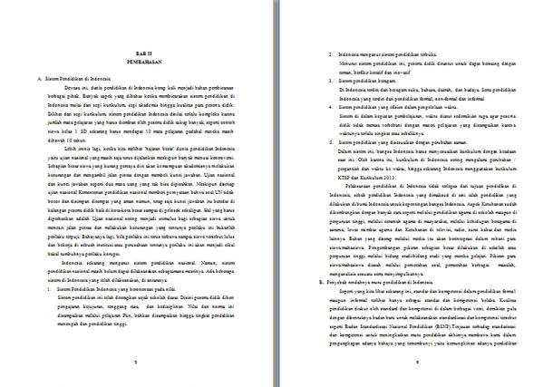Contoh Makalah Pendidikan Lengkap Format Docx Microsoft Word Contoh Docs