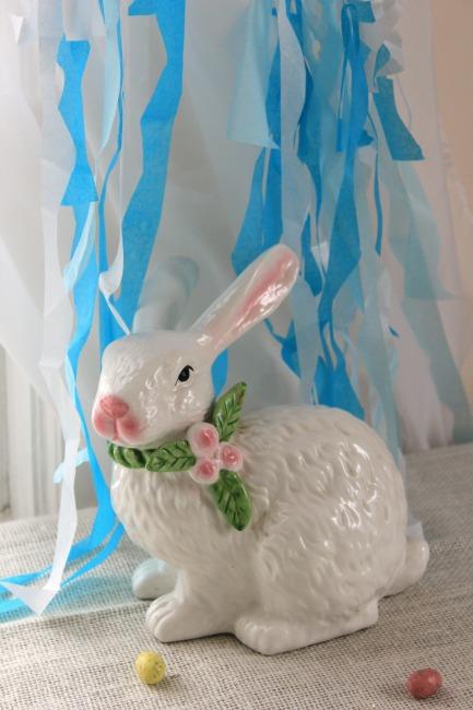 Easter bunny ceramic.