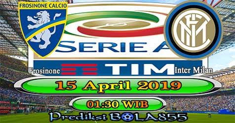 Prediksi Bola855 Frosinone vs Inter Milan 15 April 2019