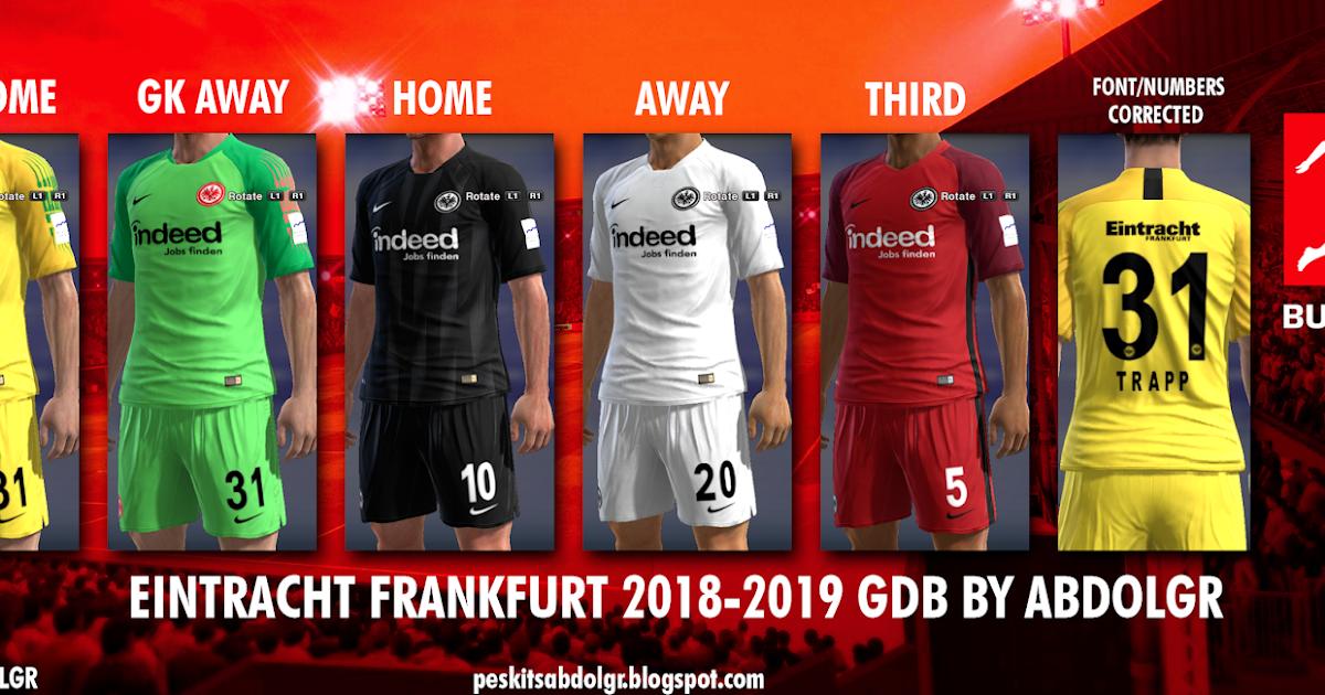 PES Kits by AbdoLGR: Eintracht Frankfurt 2018-2019 GDB by AbdoLGR