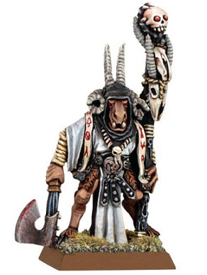 Warhammer Miniaturas: HOMBRES BESTIA.