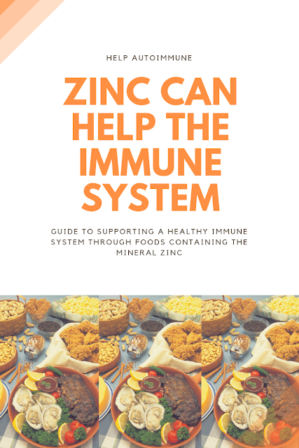 Zinc can help the immune system