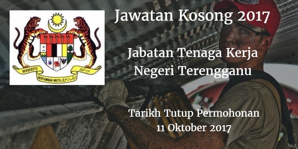 Jawatan Kosong Jabatan Tenaga Kerja Negeri Terengganu 11 Oktober 2017
