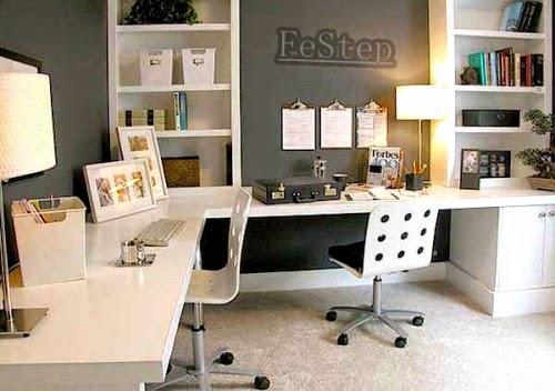10 Cara Mengatur dan Mengorganisir Ruang Kerja di Rumah