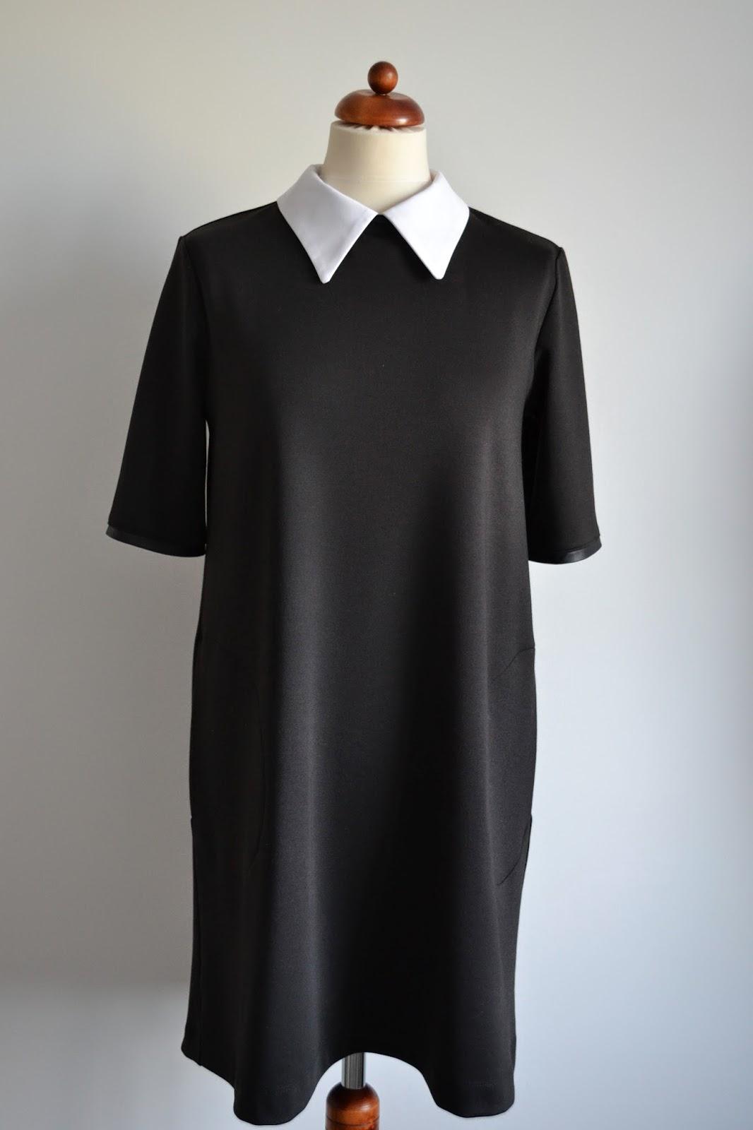 2e97ac1372 sukienka jest bardzo klasyczna i idealna na tę okazję  prosta