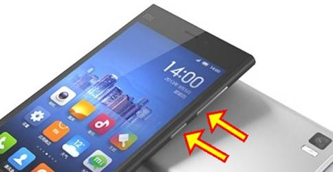 Tombol Alternatif Cara Mengambil Screen Shoot Di Hp Android Xiaomi
