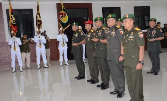 Mayjen TNI R. Wisnoe Prasetja Boedi Resmi Dilantik Jadi Pangdam V/Brawijaya