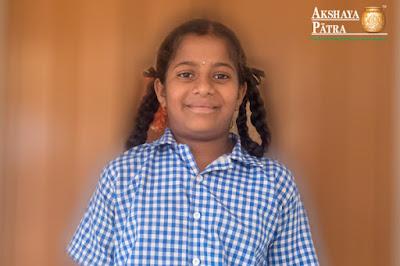 Bhanupriya-Akshaya patra beneficiary