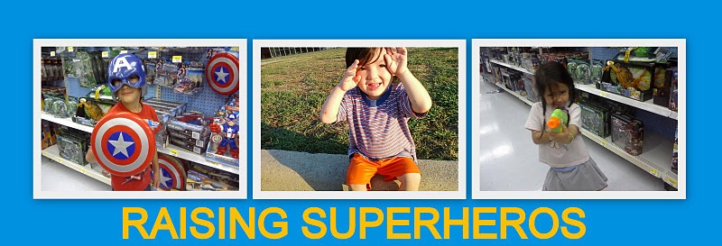 RAISING SUPERHEROS