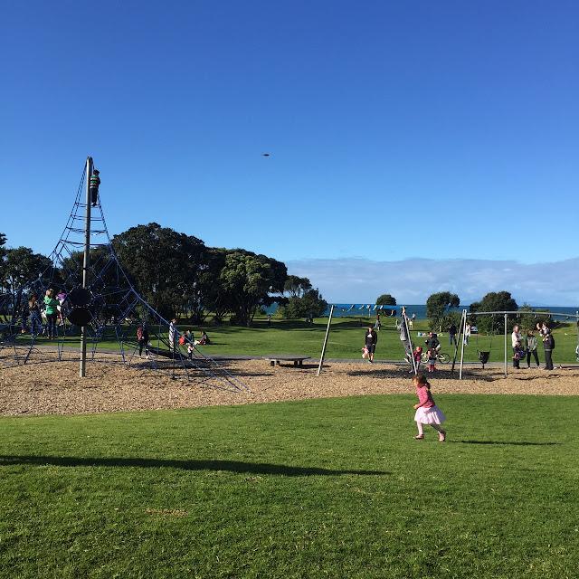 Barnvänliga hikingställen runt Auckland