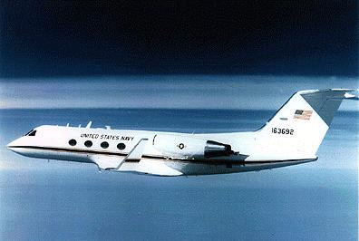 Gambar 29. Foto Pesawat Angkut Militer Gulfstream III