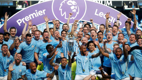 2017/18 Premier League champions Manchester City