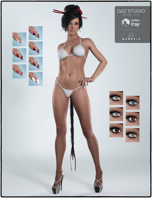 Keisha for Genesis 3 Female