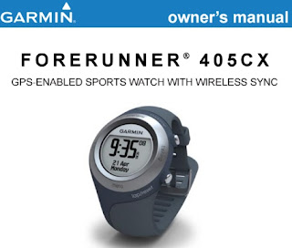 Garmin Forerunner 405CX Manual