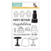 Simon Says Clear Stamps SWEET CAKES SSS101636