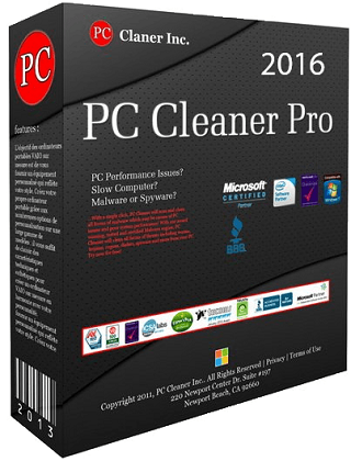 PC Cleaner Pro 2016 14.0.16.10.8 poster box cover