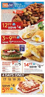 M&M Food Market Flyer August 17 - 23, 2017