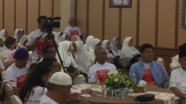 Djoko Santoso dan Buni Yani Hadiri Deklarasi Emak-emak Dukung Prabowo
